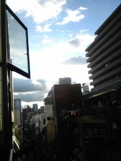 大阪に戻りました