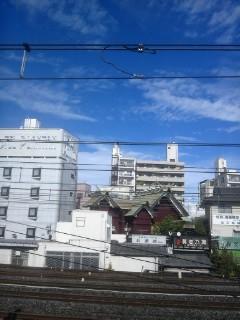 鶯谷駅より【10<br />  月6日】